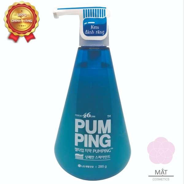 Kem Đánh Răng Hàn Quốc PUMPING Hương Bạc Hà 285g giá rẻ