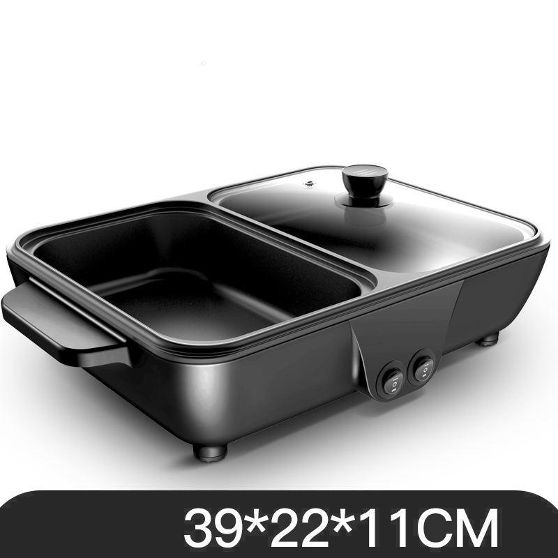[ Hàng Hot vừa cập bến !!! ] Bếp lẩu nướng 2 trong 1, bếp nướng lẩu điện đa năng -  Bếp Nướng Lẩu Tiện Dụng (2IN1) , nhỏ gọn tiện lợi đa chức năng ( Giao màu ngẫu nhiên )