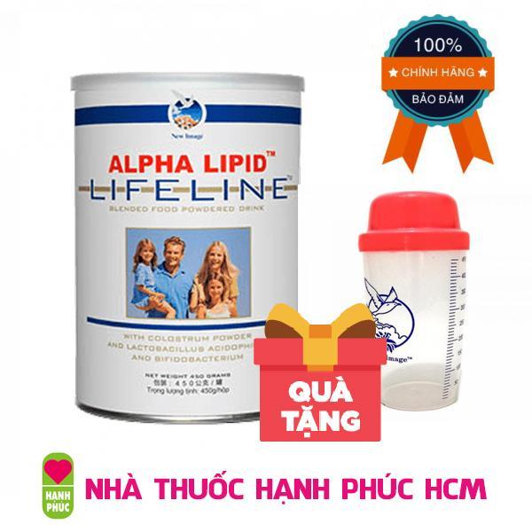 Hot Deal Khi Mua [NGUYÊN MÃ + TẶNG BÌNH LẮC] Sữa Non Alpha Lipid Linelife Tại Hồ Chí Minh