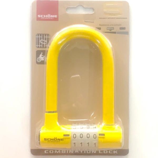 Ổ khóa số SCHONE SC-802 chiều dài càng khóa 125mm