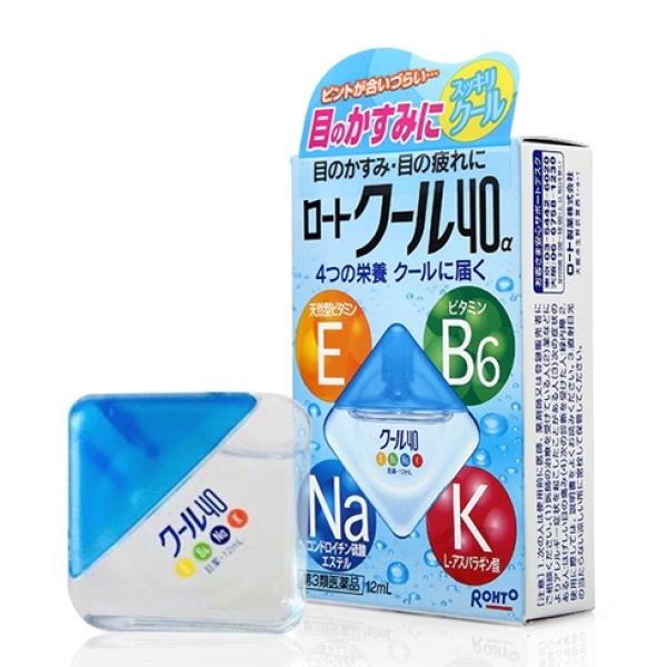 (Mẫu Mới) Nước Nhỏ Mắt Rohto Nội Địa Nhật Bản - Mau xanh giá rẻ