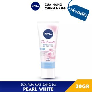 Sữa rửa mặt Nivea Pearl White Đất Sét giúp trắng da ngọc trai 20g - Thái Lan thumbnail