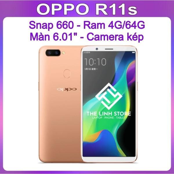 Điện thoại OPPO R11S ram 4G/64G - Snap 660 màn 6.01 inch