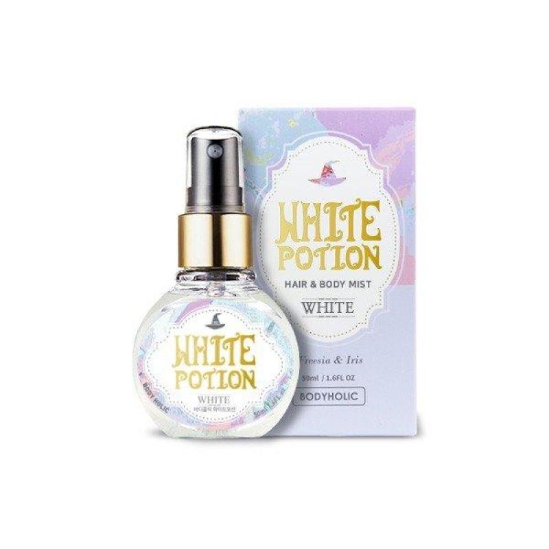 Xịt Thơm Toàn Thân Và Tóc Body Holic - White Potion nhập khẩu