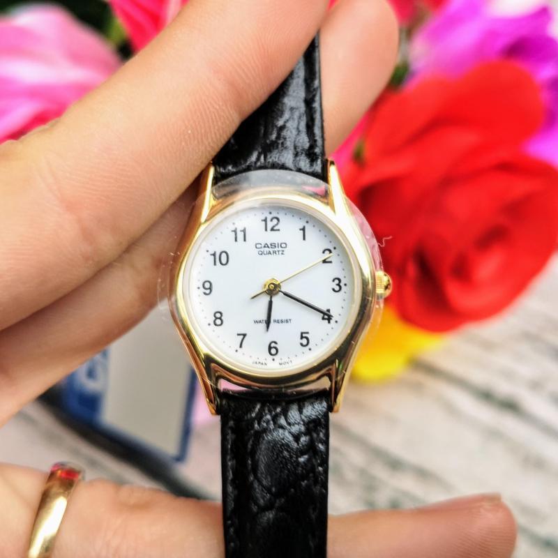 Đồng hồ nữ dây da Casio LTP-1094Q-7B1RDF