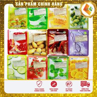 [HÀNG - AUTH] Mặt nạ 3d foodaholic Hàn Quốc Đắp (10 chiếc) mặt nạ là một trong những phương pháp hiệu quả và tiết kiệm để mang lại cho bạn 1 làn da mịn màng, trắng sáng, giúp làm trẻ hóa làn da, ngăn ngừa phát sinh nếp nhăn. thumbnail