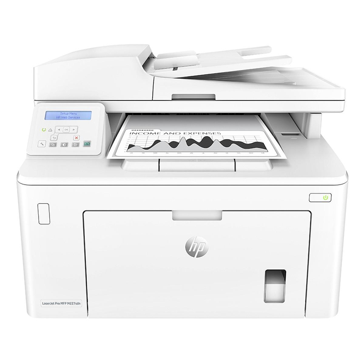 Máy In Đa Năng HP LaserJet Pro MFP M227SDN