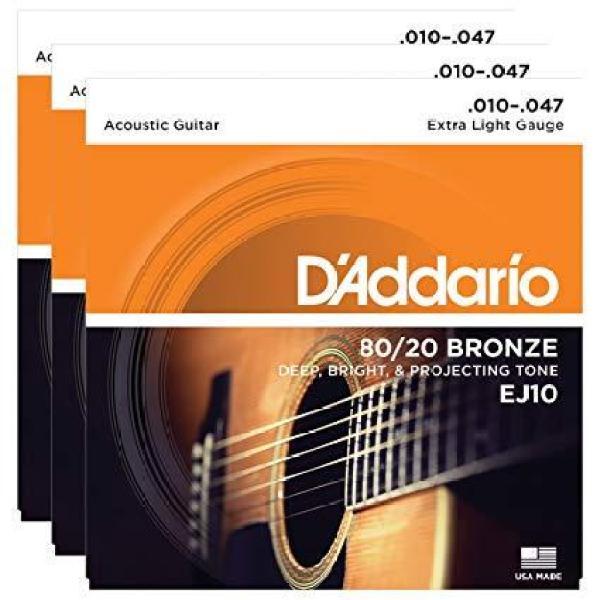 Dây Đàn Guitar Acoustic - DAddario EJ10