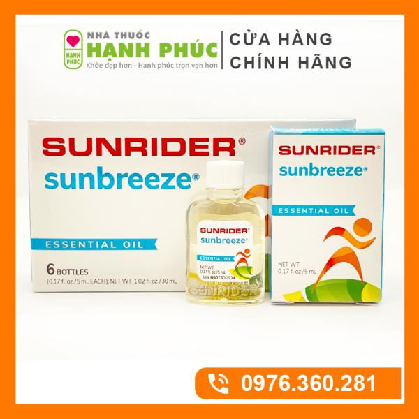 Tinh dầu Sunbreeze - tinh dầu thảo mộc siêu cô đặc từ Mỹ cao cấp