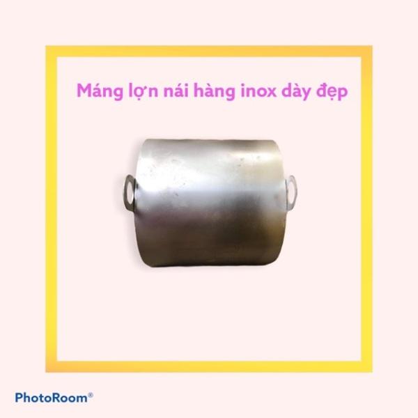 Máng Cho Heo, Lợn Nái Inox 430 Dày 1,2Mm
