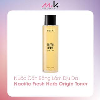 Nước cân bằng Nacific Fresh Herb Origin Toner nhập khẩu chính hãng Hàn Quốc, dưỡng ẩm cho da nhạy cảm, không gây kích ứng 150ml thumbnail