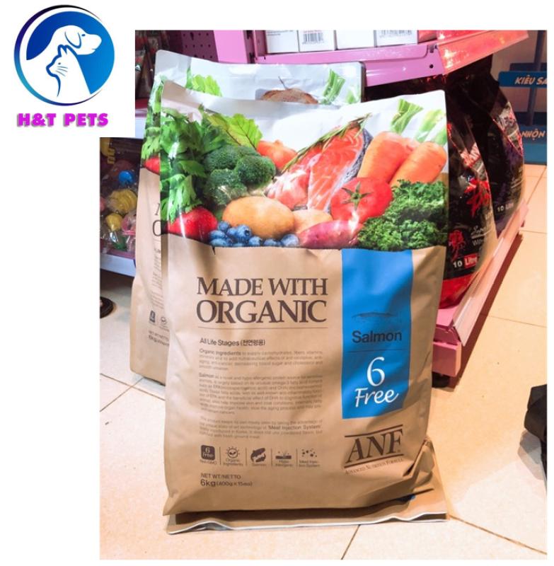 [6kg] Thức ăn hạt cho chó lớn hơn 6 tháng tuổi ANF 6 Free Organic