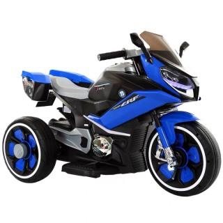 Xe máy điện moto 3 bánh FB618 cho bé đồ chơi đạp ga vận động ngoài trời (Trắng-Đỏ-Vàng-Xanh) thumbnail