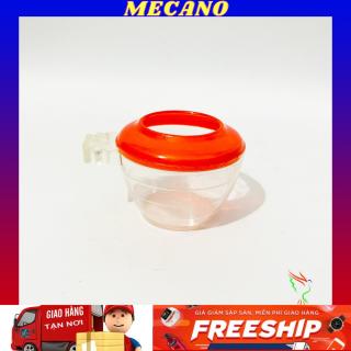 Cóng ăn đỏ chào mào MECANO chất liệu nhựa mica giá rẻ họa tiết siêu đẹp (1 chiếc) thumbnail
