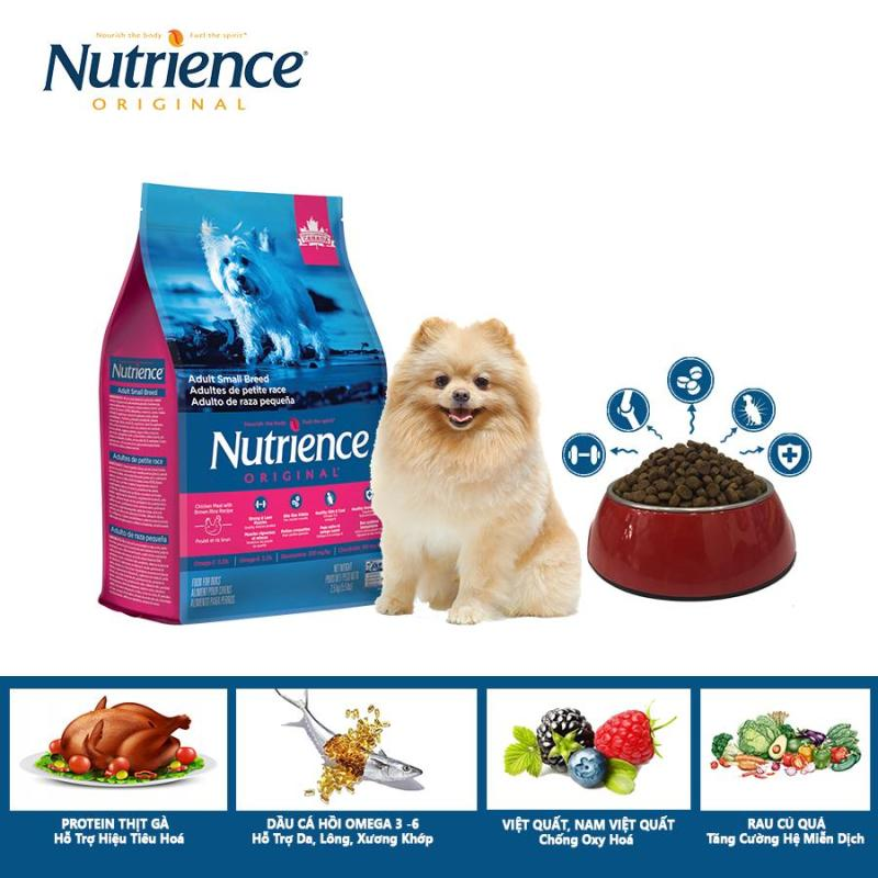 Thức Ăn Cho Chó Phốc Nutrience Original - Thịt gà, rau củ và trái cây tự nhiên