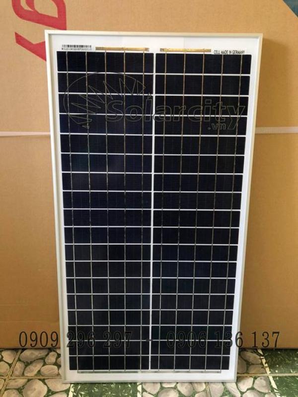 Tấm pin năng lượng mặt trời 30w Poly