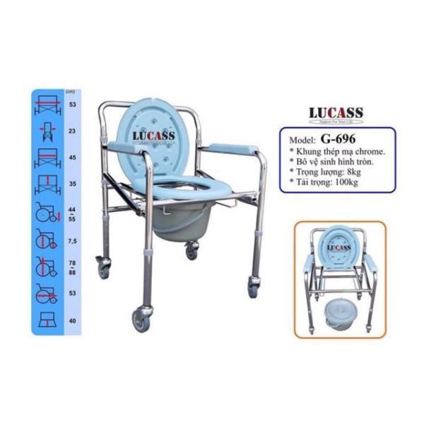 Ghế bô có bánh xe G696 Lucass cao cấp