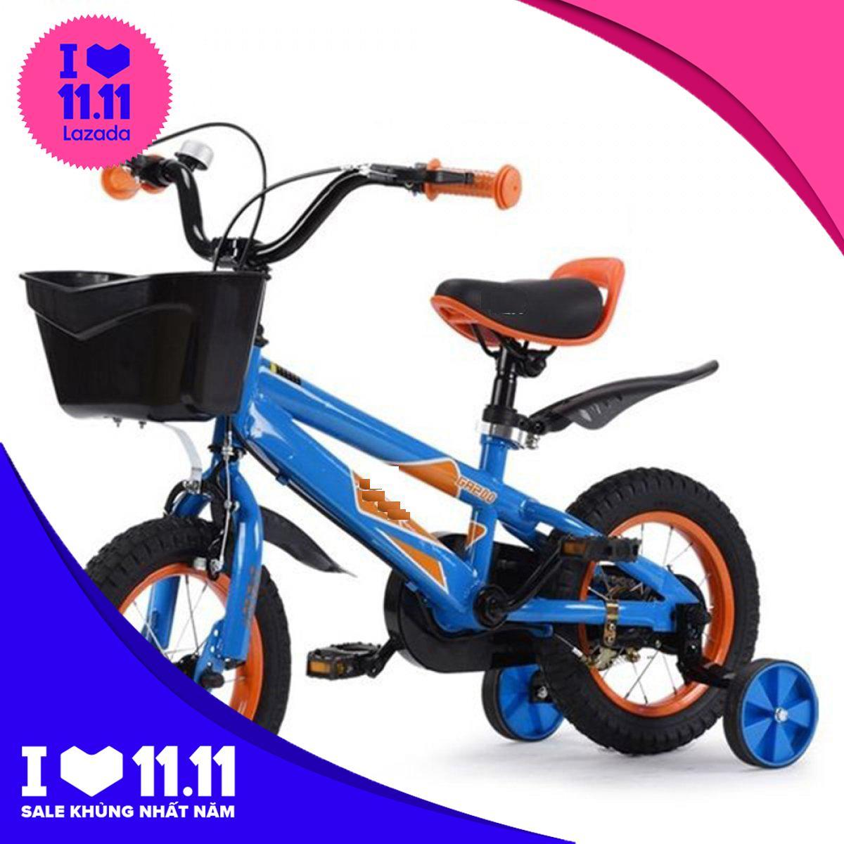 Mua Xe đạp trẻ em 77B12  - Xe đạp thể thao - Xe đạp cho bé - Xe dap tre em - xe đạp trẻ em giá rẻ - Babimart HN