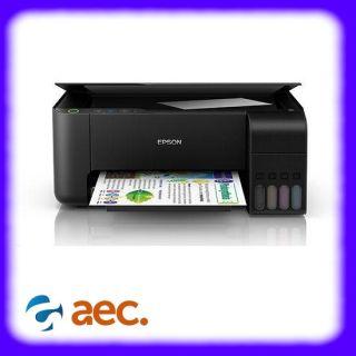 Máy in phun màu Epson L3110 model thay thế Epson L360 ( In,Scan,Copy ) sử dụng mực Dye UV chống bay màu ( đã bao gồm 4 bình mực ) ( In Photo Scan ) thumbnail