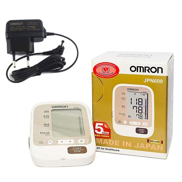 Nơi bán Máy Đo Huyết Áp Bắp Tay Omron Jpn 600 + Adapter Cấp Nguồn Điện Khi Không Dùng Pin