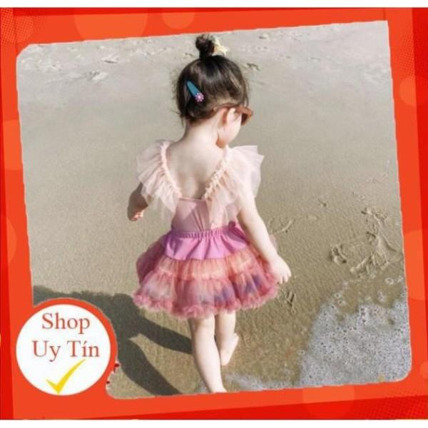 Nơi bán ✅ Bộ đồ bơi liền kèm chân váy xoè đáng yêu dành cho bé (chân váy rời)