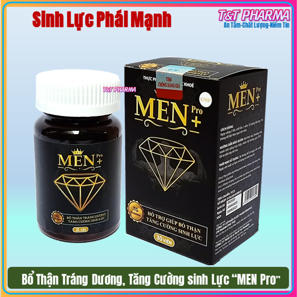 Viên Uống Tăng cường sinh lý cực mạnh Men Pro - Giúp tăng cường sinh lý mạnh hơn, bền vững hơn- hôp 30 viên cao cấp