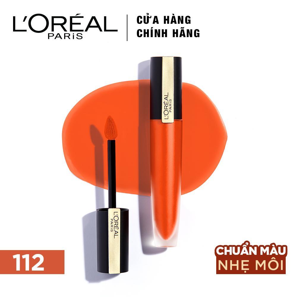 Son kem lì nhẹ môi cao cấp Rouge Signature L'Oréal Paris 7ml