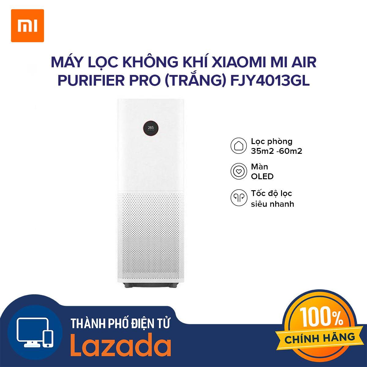 Bảng giá Máy lọc không khí Xiaomi Pro Mi Air Purifier (Trắng) FJY4013GL - Bộ lọc than hoạt tính loại bỏ mùi hôi và chất độc hại
