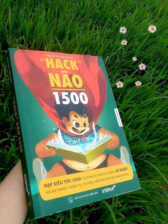 ( Bên Trong Có Màu Đẹp ) Sách Hack Não 1500 Từ Tiếng Anh 2020 - Tặng Kèm AUDIO Và VIDEO Có Giá Ưu Đãi