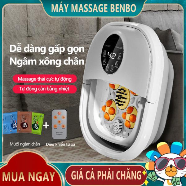 [HCM]Máy ngâm chân KAIMEIDI điện tự động có thể gấp gọn ngâm chân cân bằng nhiệt tiện lợi gia dụng gọn nhẹ KM-788 - Máy massage Benbo