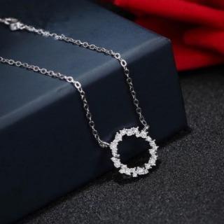Dây chuyền nữ bạc S925 phong cách Hàn Quốc vòng cổ nữ thumbnail
