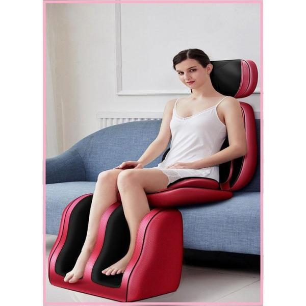 Ghế massage hồng ngoại - Đệm ghế matxa toàn thân hồng ngoại - Bộ ghế massa toàn thân mẫu full cổ , lưng ,cả bàn chân
