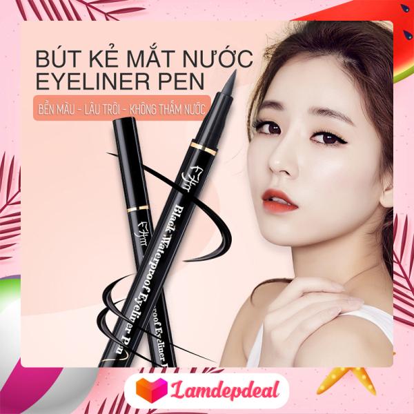 ♥ Lamdepdeal - Bút kẻ mắt nước Lameila Eyeliner Pen phiên bản 2021 - Dụng cụ trang điểm. Bút kẻ viền mắt bền màu, không trôi, không thấm nước giá rẻ