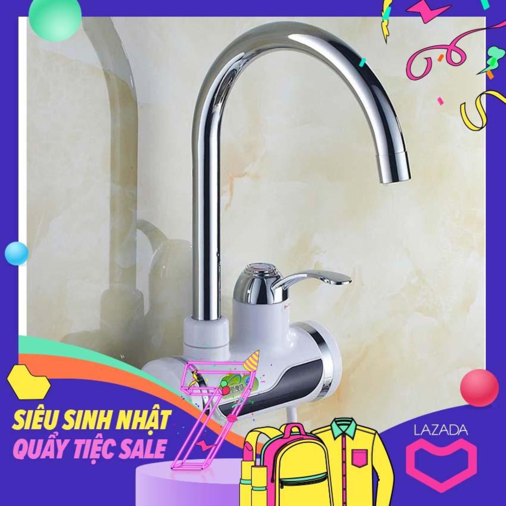 Bình nóng lạnh giá rẻ, Máy làm nóng nước trực tiếp tại vòi gắn tường tiện lợi. Giảm tới 50% khi mua online ngay HÔM NAY