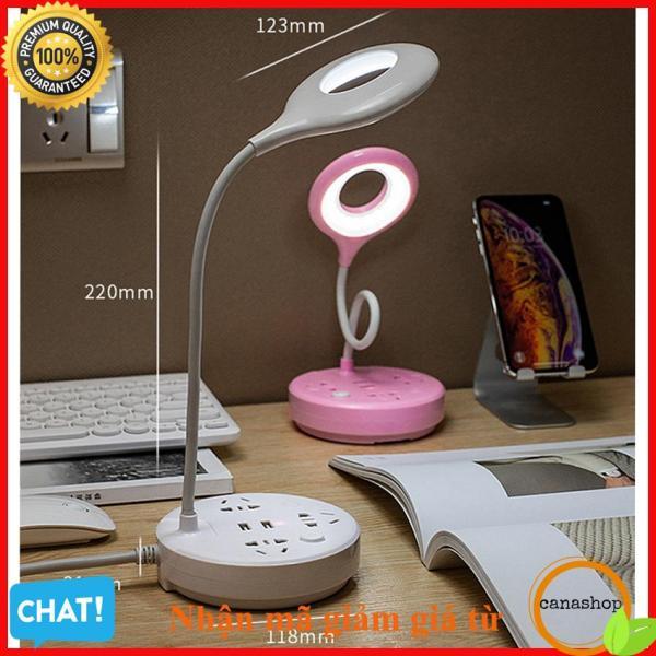 Bảng giá Đèn Học Để Bàn Chống Cận Có Ổ Cắm Điện Và Cổng Sạc USB, den ban hoc sinh rang dong, đèn hỗ trợ thị lực, Kinh nghiệm muađèn họccho con Lỗi 1 Đổi 1 – Canashop