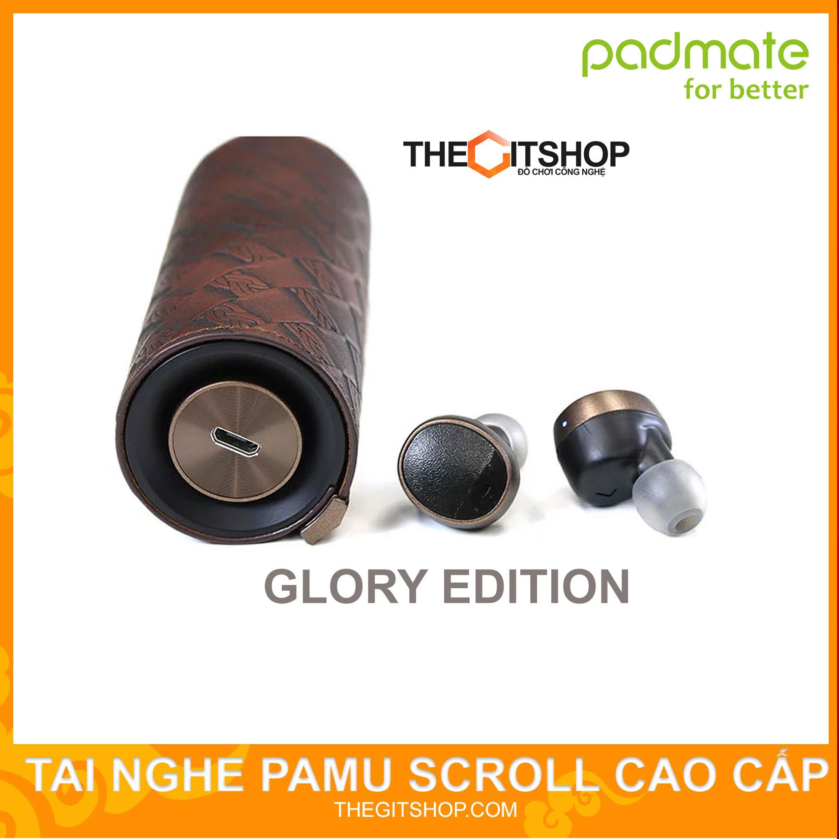Tai nghe không dây True Wireless PAMU SCROLL - Âm thanh hay - PADMATE