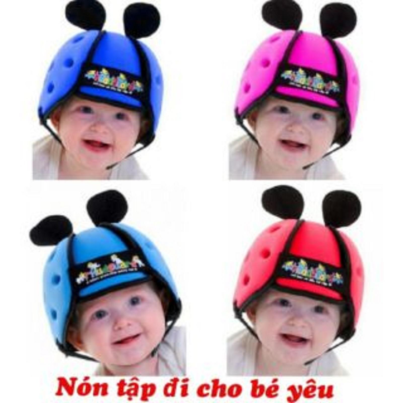 Giá bán Mũ bảo hiểm Bảo Vệ trẻ em - cho bé tập đi