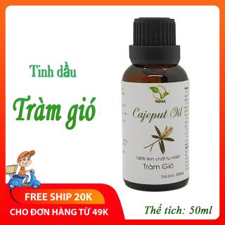 Tinh dầu tràm gió nguyên chất 50ml, kháng khuẩn, giữ ấm cho mẹ và bé - TAMAS thumbnail