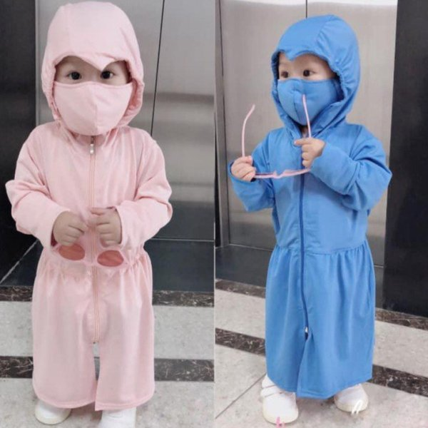Giá bán 💙 ÁO KHOÁC CHỐNG NẮNG 💙 áo chống nắng chống tia UV tuyệt đối siêu đẹp cho bé gái - size từ 10-40kg