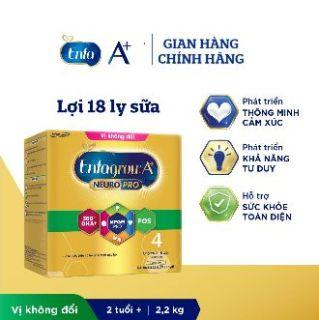 Sữa bột Enfagrow A+ Neuropro 4 Vị không đổi với dưỡng chất DHA & MFGM 2.2kg thumbnail