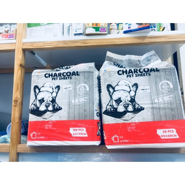 Tấm Lót Vệ Sinh Than Hoạt Tính Cho Chó Mèo CHARCOAL