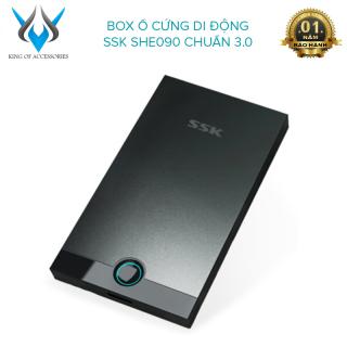 [HCM]Box ổ cứng di động SSK SHE090 chuẩn 3.0 - thiết kế đơn giản gọn nhẹ (đen) - Phụ Kiện 1986 thumbnail