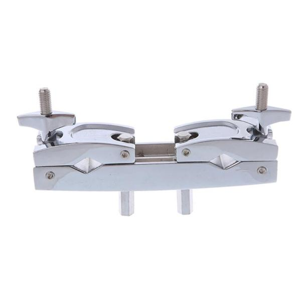 Metal Connecting Clamp Holder Bracket Percussion Drum Set for Cowbell Accessory