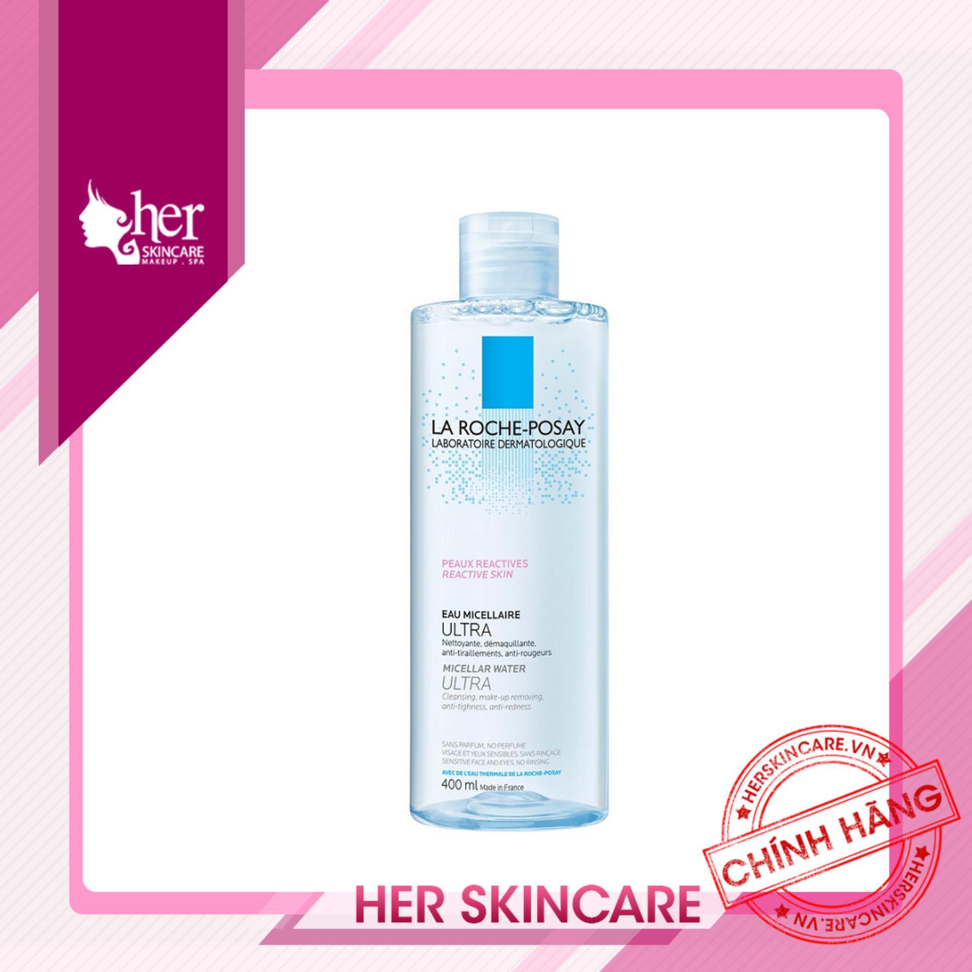 Tẩy trang da dầu La Roche-Posay Effaclar Purifying Micellar Water Oily Skin 400ml tốt nhất