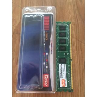 RAM DATO 4Gb DDR3 1600MHz, sản phẩm đa dạng, chất lượng cao, cam kết hàng như hình, vui lòng inbox để shop tư vấn thêm 2
