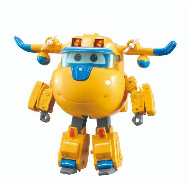 Robot Biến Hình Cỡ Lớn Có Đèn Và Âm Thanh  - - Donnie Siêu C SUPERWINGS YW740432