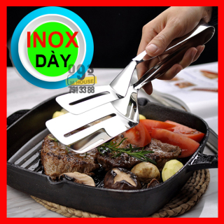 Kẹp Gắp Thịt Nướng, Vợt Xẻng Thịt Gà Cá Đồ Chiên Rán Inox thumbnail