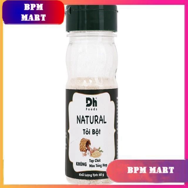 Tỏi bột Dh Food Natural hũ 60g - GIA VỊ NẤU ĂN - GIA VỊ NÊM - BPMart