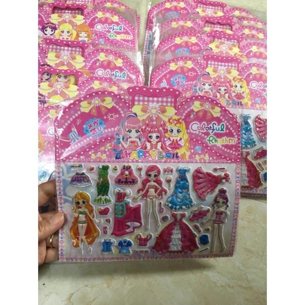 Hình dán sticker công chúa