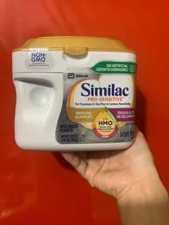Sữa Similac Pro - Sensitive Mỹ 638g cho bé từ 0-12 tháng date 11 2021 thumbnail